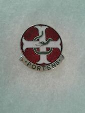 Authentic US Army 27th Field Hospital DI DUI Crest Insignia HAWAII