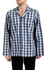 "Hugo Boss ""Urban Pyjama"" Men's Plaid Long Sleeve Night Shirt US M IT 50"