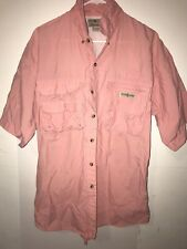 Hook & Tackle Outfitters Technical Fishing Gear Large Cotton Short Sleeve Shirt