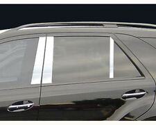1998-2006 mercedes ML W163 chrome door post pillar 4 doors 6pcs S.STEEL