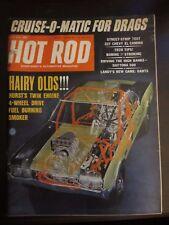 Hot Rod Magazine May 1966 Hairy Olds Hurst Twin Engine 4 Wheel Drive C1 JJ Z7 Y6