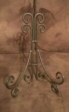 Set Of 6 Brown Appox 9� X 6� Plate Holder Easel