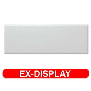 Nobo White Slimline Portable Indoor 2000W Electric Panel Heater w/ Castors/Timer