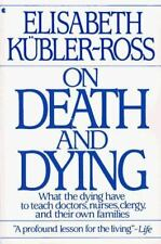 On Death And Dying, Elisabeth Kubler-Ross, Good Condition, Book
