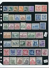 Mint stamp set #84M / B a M / Third Reich era / 40+ MNH stamps in plastic holder
