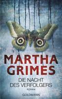 Die Nacht des Verfolgers  Martha Grimes  Thriller  Taschenbuch  ++Ungelesen++