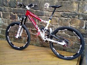 "Rocky Mountain Slayer SXC Enduro All Mountain Bike 18"" Marzocchi Shimano XT Fox"