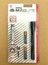 1 Unidad Linterna SP32016L Mini MAGLITE LED Negro 100 Lumen 99 Metros