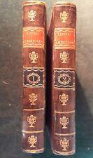 Giovanni-Rinaldi CARLI, Lettres américaines (Boston & Paris, 1788) - 2 volumes.