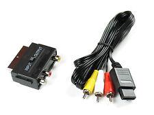 AV Cinch Kabel + Scartadapter für Nintendo 64+Super Nintendo+Gamecube,Neu!