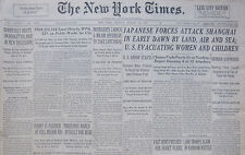 8-1937 August 16 JAPANESE FORCES ATTACK SHANGHAI IN EARLY DAWN. U.S. EVACUATING