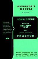 John Deere 50 Series Operators Instruction Manual 500k+