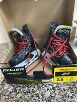 Bauer supreme 2s pro skates Junior Skate Size 3.5/shoe US 4.5D