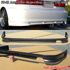 Mu-gen Style Rear Bumper Lip (ABS) Fits 98-02 Honda Accord 4dr