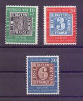 Bund 1949 - Tag der Briefmarke - MiNr. 113/115 postfr.**- Michel 100,00 € (932)