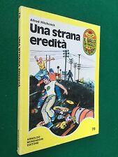 Alfred HITCHCOCK - UNA STRANA EREDITA' Giallo dei Ragazzi n.78 Mondadori (1980)
