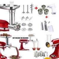 Kitchen Meat Grinder & Prep Slicer &Juicer Attachment For KitchenAid Stand Mixer