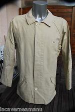bonito chaqueta impermeable BLANCO SERGE BLANCO talla XXL ESTADO NUEVA