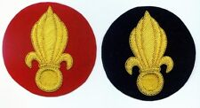 French Foreign Legion Flaming Bomb Patch red copy only