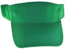 DECKY Cotton Polo Visor Adjustable-kelly green