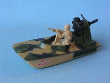 Matchbox Commando Swamp Rat ejército Verde Barco Juguete Modelo Ub