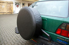 BLACK 4x4 SPARE WHEEL TYRE COVER 25´´ Inches
