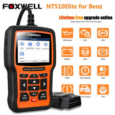 All System OBDII Scanner Car EPB ABS DPF Reset Diagnostic Tool for Mercedes Benz
