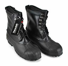 """Men's Winter Boots Size 9 Insulated Thinsulate Waterproof Steel Toe 11"""" High"""