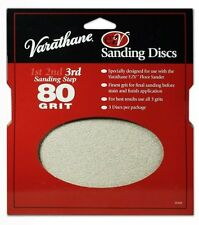 Rust-Oleum203938Varathane80 Grit Sand Discs for EZV Floor Finish Sanders, 3-Pack