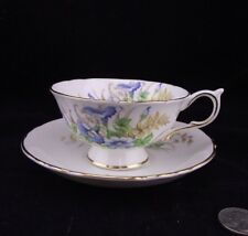 PARAGON DOUBLE WARRANT CABINET TEA CUP AND SAUCER FLORAL PATTERN