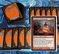 mtg WHITE RED HEROIC DECK Magic the Gathering rare 60 cards +