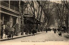 CPA GRASSE Avenue du Jeu de Ballon (376391)
