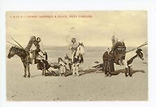 Chief Campbell & Black MUSQUEAM INDIAN Antique Manitoba—British Columbia 1907