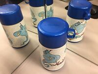 LUNCH BOX THERMOS ALADDIN VINTAGE DISNEY'S ALADDIN ENTHUSIASTS THERMOS B2