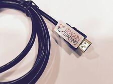 Piombo HDMI PER Panasonic HDC-SD200 Videocamera HD-PLACCATO ORO-ALTA definitio...