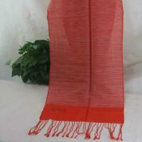 Sale New Vintage 2ply Solid Cashmere Wool Blend Soft Warm Shawl Scarf Gift 325