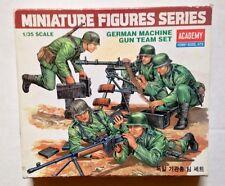 Vintage Academy German WWII Machine Gun Team Set Model Kit 1/35 Scale 1996