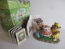 Fitz and Floyd You Take The Cake Figurine Honeybourne Hollow 27/104 MintFigurine