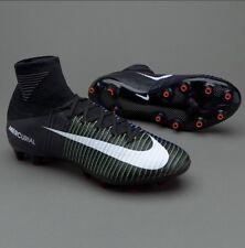 Nike MERCURIAL SUPERFLY V AG Pro acc Nero Verde Blu Misura UK 12 831955 -013