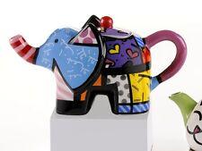 Romero Britto Mini Teapot Elephante - NEW -