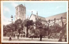 Dundee Old Tower Churches  Policeman Vintage Postcard Tayside Series WJM