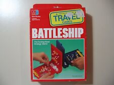 Battleship, travel board game, Brand New and Sealed from 1989