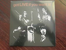 "THE ROLLING STONES - GOT LIVE IF YOU WANT IT - RSD 7"" VINYL EP NEW SEALED"