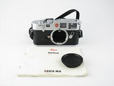 Leica M6 Messsucher range finder chrom chrome mit Anleitung und Gurt