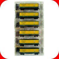 N Scale NWX NORTH WESTERN 40' Reefer Car 6-Pack Set --- KADEE MICRO TRAINS 49272