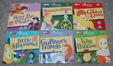 6 FAIRYTALE CLASSSICS on 6 DVD'S - RUMPELSTILTSKIN / LITTLE MERMAID ect