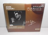028945691329 Great Pianists of the 20th Century - John Ogdon I  2CD New Sealed
