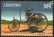 1886 BENZ Patent-Motorwagen Mint Automobile Car Stamp (2000 Lesotho)
