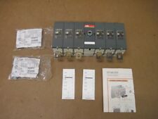 ABB OT200E33 1SCA103718R1001 6 Pole 200A NF IEC 1000VDC Disconnect Switch