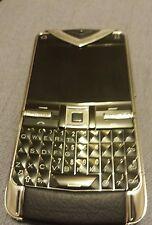 Vertu Constellation Quest Black Leather luxury mobile phone English Russian